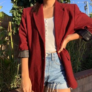 PENDLETON VINTAGE BLAZER (RETRO RED & BLACK)